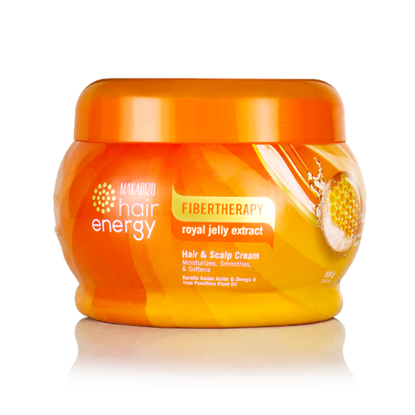 Fibertherapy Hair Scalp Cream With Royal Jelly Extract